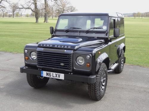 Jaguar Land Rover Defender LXV экстерьер