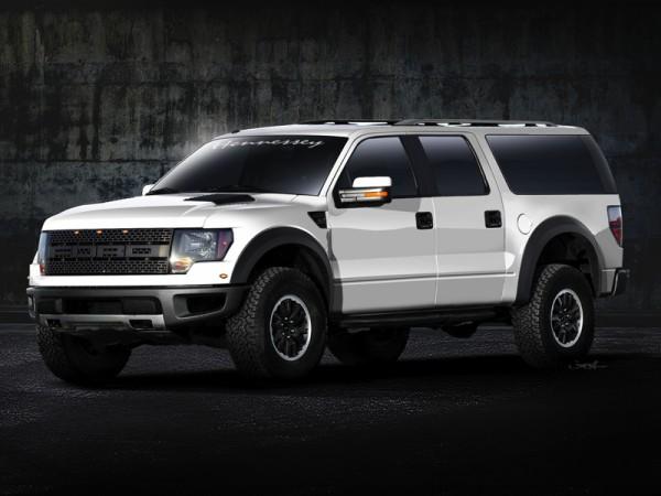 Внедорожный монстр Ford F-150 SVT Raptor