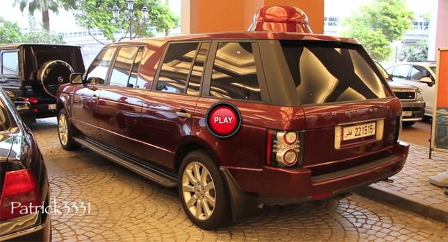 Внедорожник Land Rover Range Rover  переделанный в лимузин