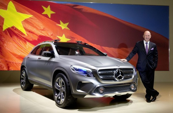 Концепт Mercedes GLA