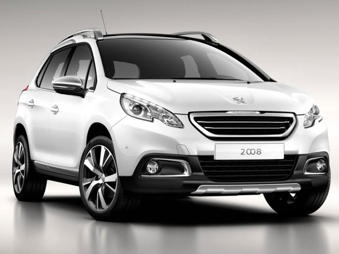 Экстерьер Peugeot 2008