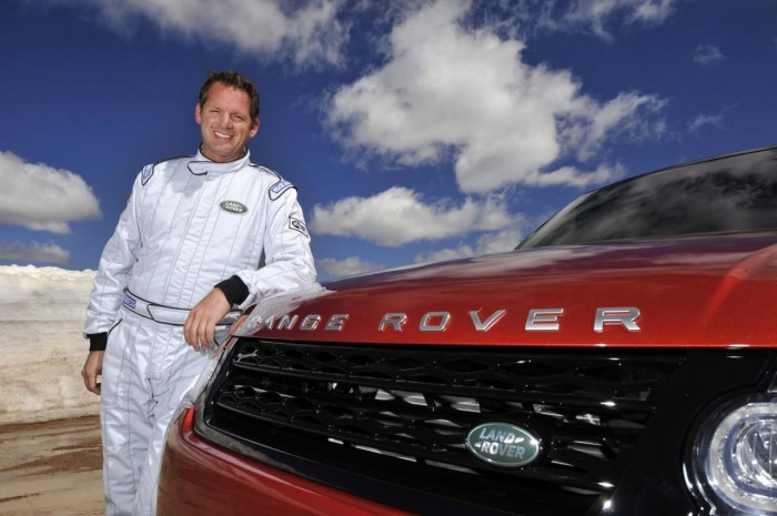 Paul Dallenbach и Range Rover