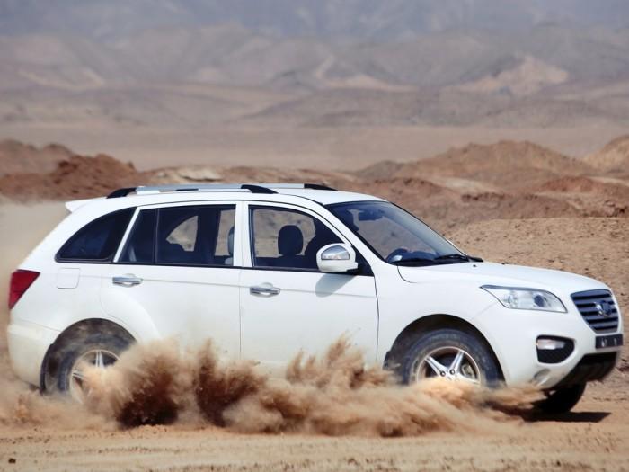 Lifan X60 в песках