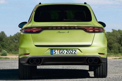 Porsche Macan сзади