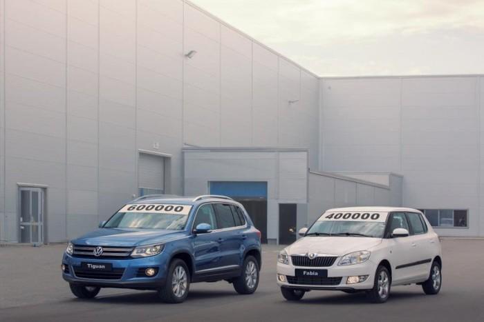 Юбилейные Skoda и Volkswagen