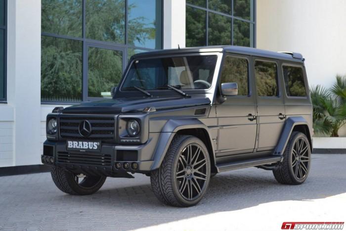 Mercedes-Benz G55 AMG с пакетом Brabus Widestar
