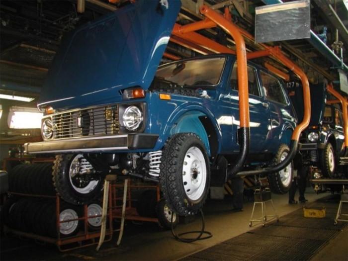 Производство Lada 4x4