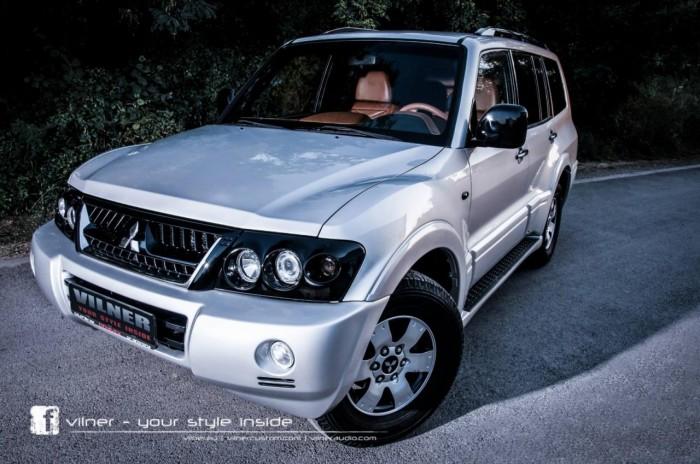 Mitsubishi Pajero с эксклюзивным дизайном салона