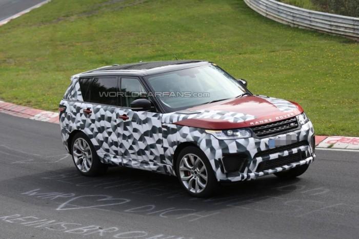 новый Range Rover Sport RS