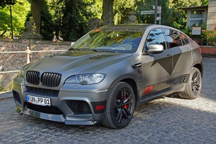 Кроссовер BMW X6M в тюнинге