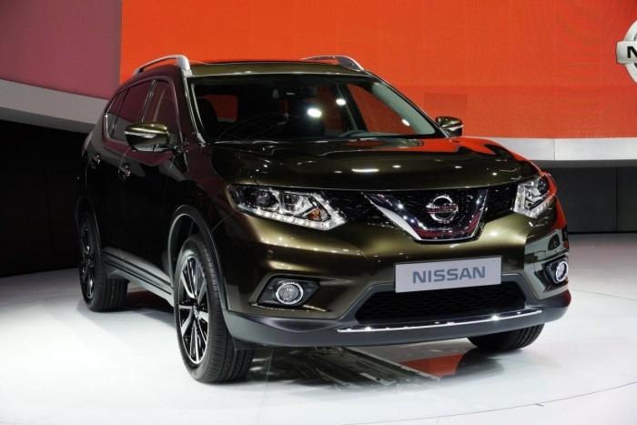 Новый кроссовер Nissan X-Trail/Rogue