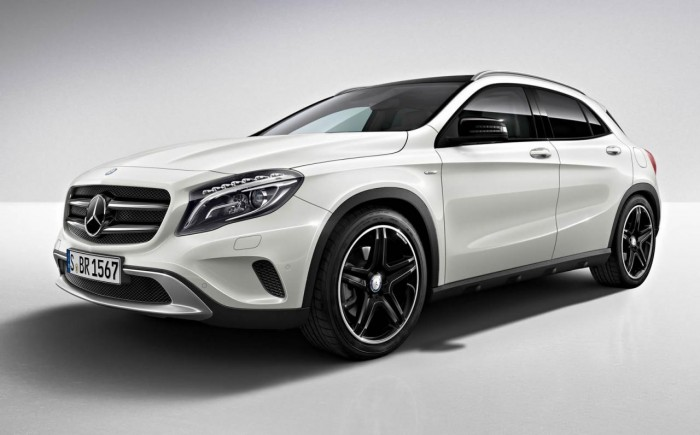 2014 Mercedes GLA Edition 1