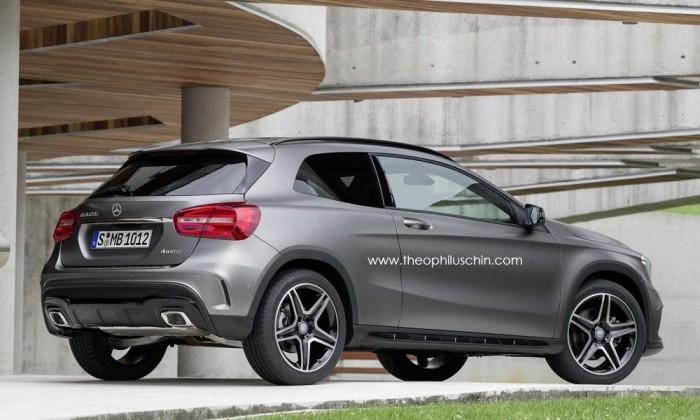 3-дверный Mercedes-Benz GLA