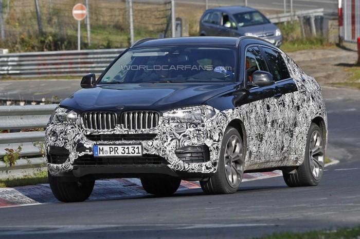 второе поколение BMW X6
