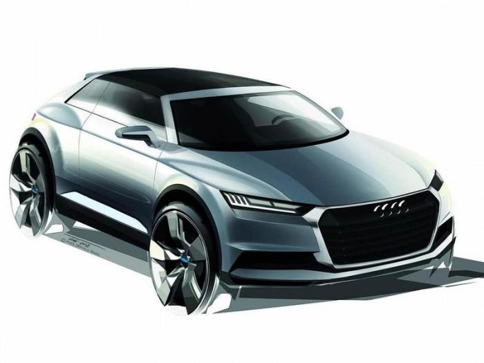 Audi Q1 концепт