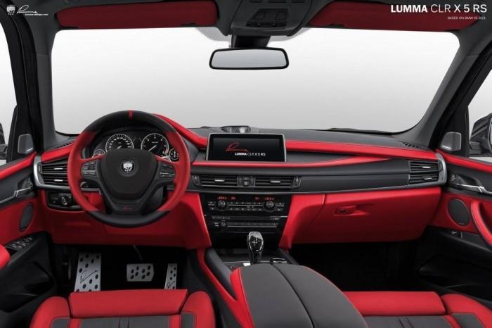 Салон BMW X5 от Lumma Design