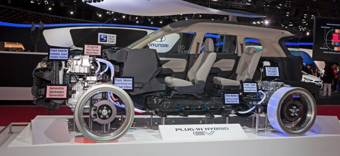 Mitsubishi Outlander гибрид