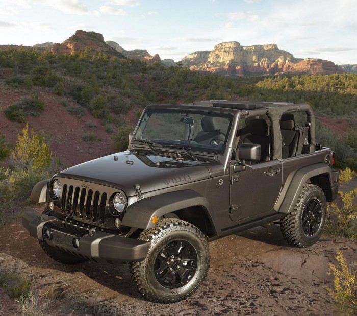 2014 Wrangler Willys Wheeler Edition