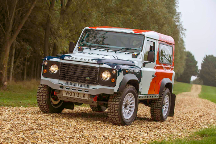 Land Rover Defender для ралли