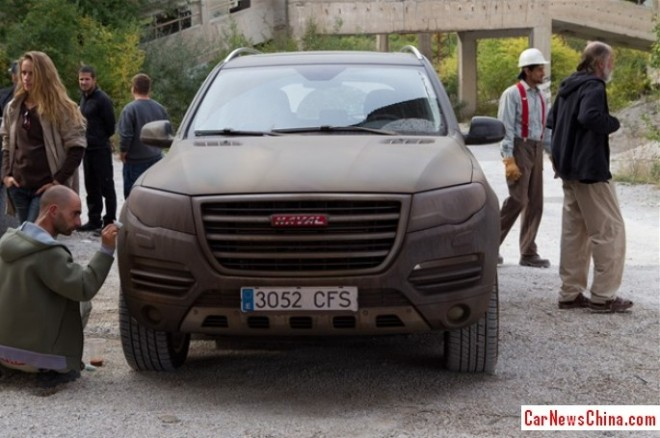 Great Wall Haval H8 в фильме