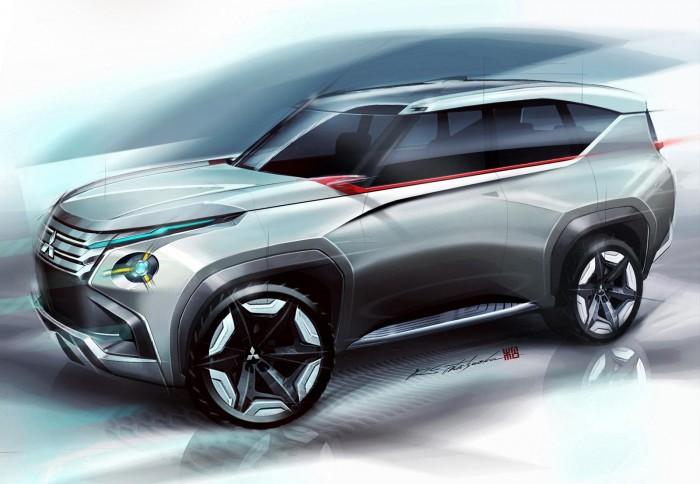 Mitsubishi Concept GC-PHEV 2