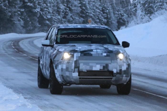шпионский 2015 Land Rover Freelander