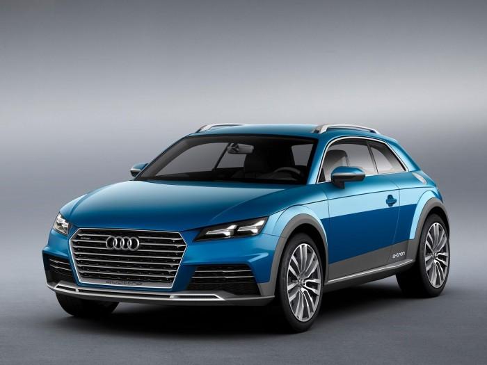 концепт кроссовера Audi