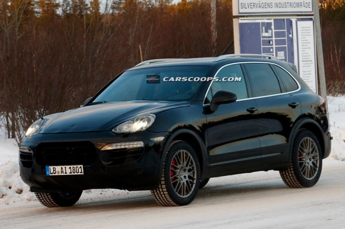 2015 Porsche Cayenne Mk2