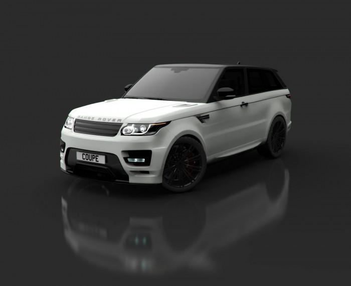 Range Rover  в купе