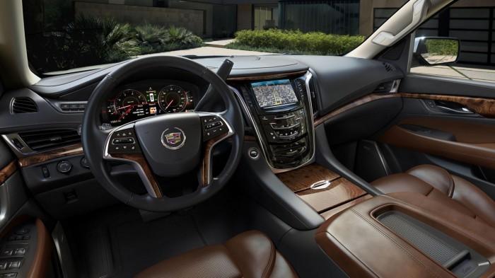 салон 2015 Cadillac Escalade