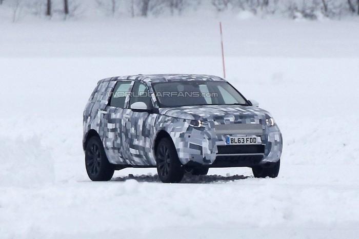 Шпионские фото 2015 Land Rover Freelander