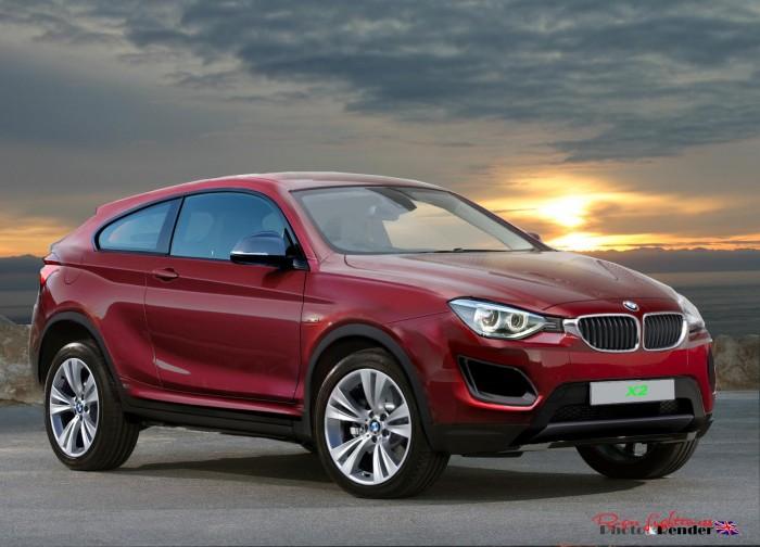Визуализация BMW X2