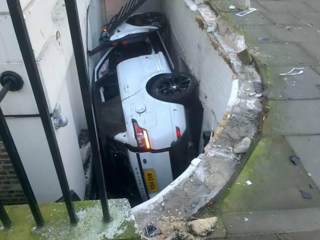 авария 2014 Range Rover Sport