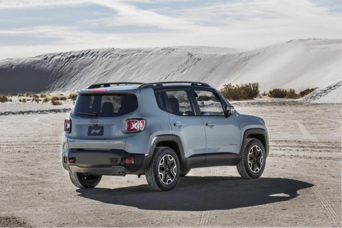 Jeep Renegade сзади