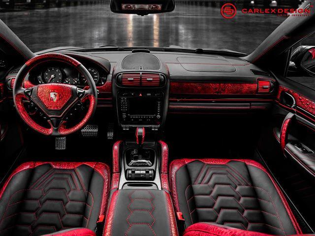 новый салон для Porsche Cayenne
