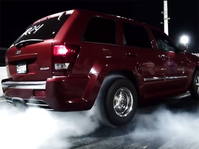 "Самый быстрый в мире ""натуральный"" Jeep Grand Cherokee"
