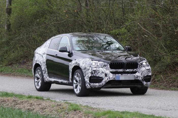 шпионские фото 2015 BMW X6
