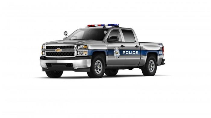 2015 Silverado 1500 Crew Cab Special Service Vehicle (SSV)