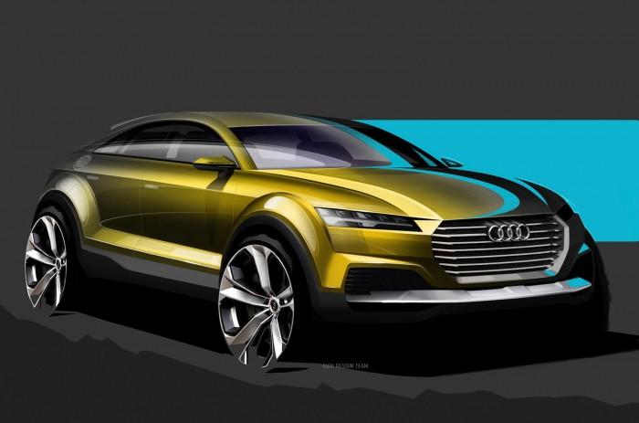 эскизы концепта Audi Q4