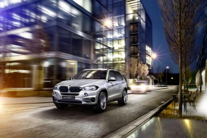 концепт BMW X5 eDrive