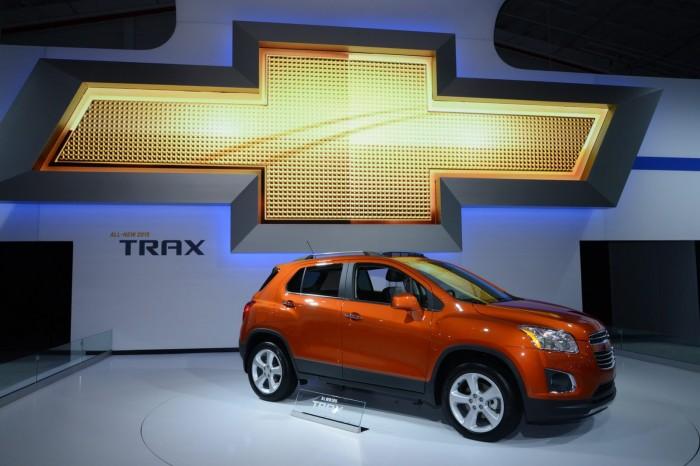 логотип Chevrolet Trax