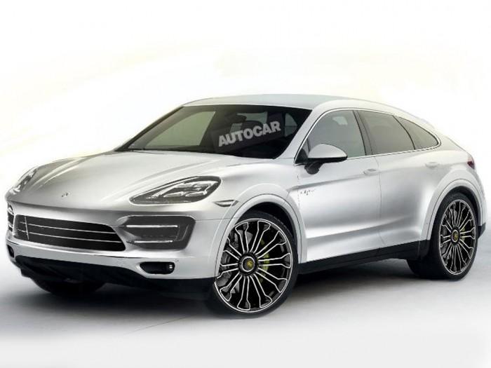Porsche  выпусти кросс-купе на базе Cayenne