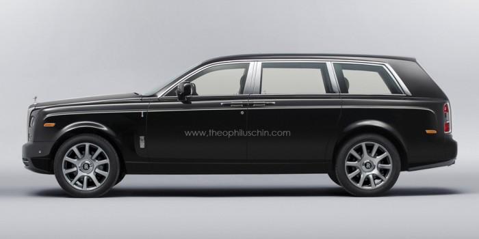 Кроссовер/SUV  Rolls-Royce