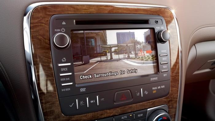 Все автомобили Buick  получат заднюю камеру в стандартной комплектации