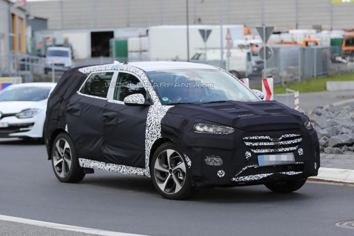 Прототип Hyundai ix35 / Tucson