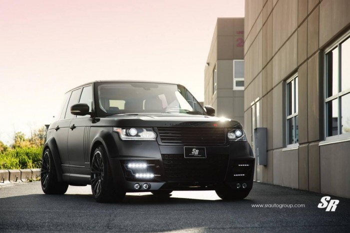 Range Rover от тюнеров  SR Auto Group