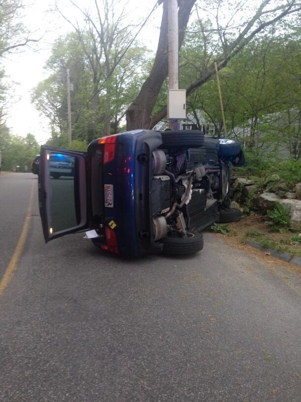 Пчела привела к аварии BMW X5