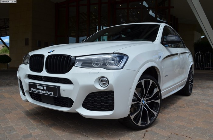 BMW X4  ? ??????? M Performance Parts