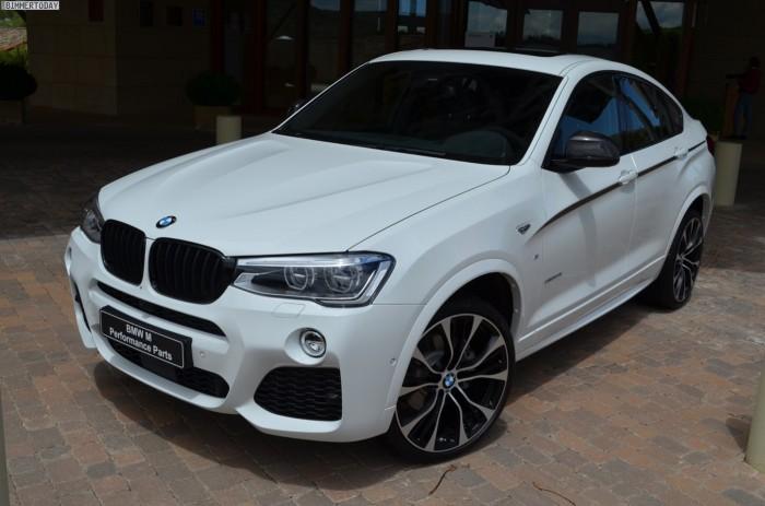 BMW X4  с пакетом M Performance Parts
