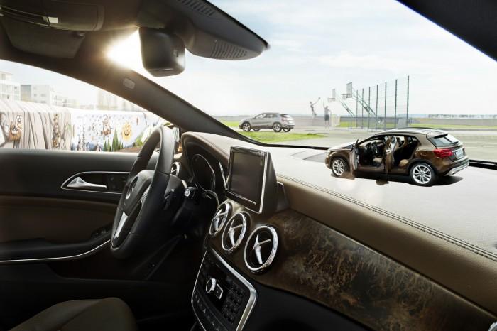 Mercedes-Benz выпускает уменьшенные копии GLA